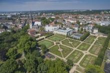 Darmstadts Herrngarten.