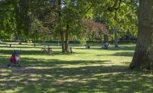 Darmstadts Herrengarten.